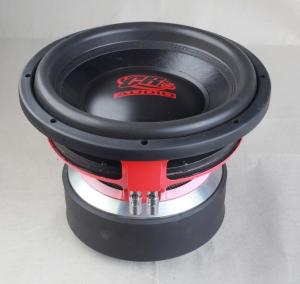 China High Powered Dual 2 Ohm High End Car Subwoofers Non Paper Pressed Cone on sale