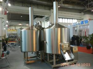 China 20 Bbl Brewhouse Stainless Steel Brewing Equipment Steam Heating 3Mm Thickness on sale