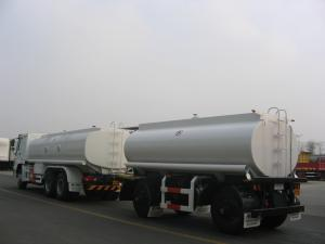 China Draw Bar Fuel Tank Trailer for Tanzania and Ethiopia on sale