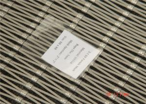 China Corrosion Resistant Architectural Mesh Cladding 3.0 mm Wire Diameter on sale