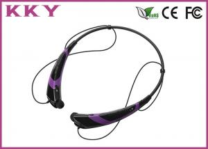 China Bluetooth Handsfree Headset , Bluetooth Cellphone Headset Noise Reduction on sale