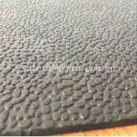 Heavy Duty Orange Peel Rubber Mats Leather Pattern Rubber Floor Matting