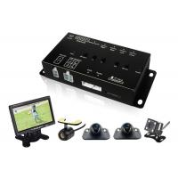 Best 360 Degree Car Vehicle Security Camera System with DVR LCD Monitor Cables