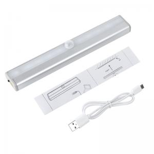 China DIY Stick-on Anywhere Portable 10 LED Wireless Motion Sensing Closet Cabinet LED Night Light on sale