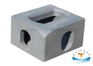 China Forged Steel Rigging Lifting Equipment Shipping Container Corner Casting on sale
