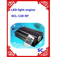 120W LED RGB Optical Fiber Light Source engine with Remote Control