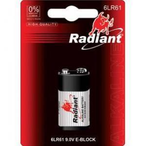 China alkaline battery 6LR61-M1B on sale