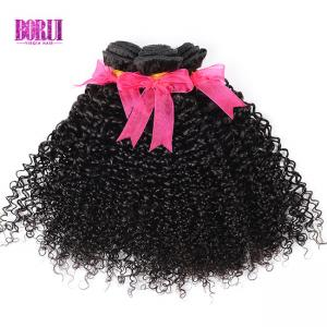 China Kinky Curly Virgin Peruvian Human Hair 100% Virgin Peruvian Hair Deep Curly Bundles on sale