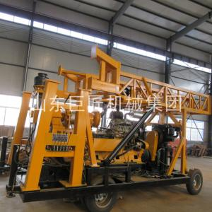 China XYX-44A Wheeled rock soil core Drilling Rig water well drilling machine , auger rotary truck vehicle mounted drilling ma on sale