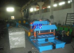 China Rolo vitrificado aço da telha que forma a máquina 13Kw única movimentação Chain de 1,2 polegadas on sale