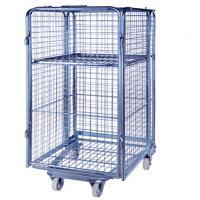 Folding Transport Rolling Cage Cart