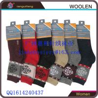 China 2016 Hot Selling Chirstmas Wool Socks For Ladies China Wool Sock Factory on sale