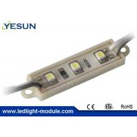 China 3 Led Chip Epistar 3528 SMD Led Module , Light Signage Outdoor Led Modules 12VDC 0.3W on sale