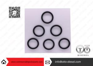 Black 0 445 120 078 Bosch Injector Seal O Rings For Fuel Injectors