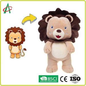 China BSCI Stuffed Plush Lion , Mascot Baby Stuffed Animals Personalized on sale