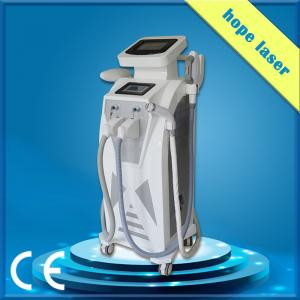 China Multifunctional SHR RF Q Switched ND YAG Laser Hair Removal Machine on sale