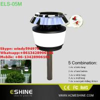 easy DIY installation solar led garden light with mosquito killer or anti-animals