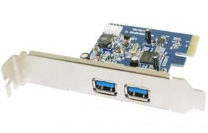 Quality PCI-E USB3.0 2 ports USB3.0 PCI Card  (MH-PCI-E-828U3) for sale