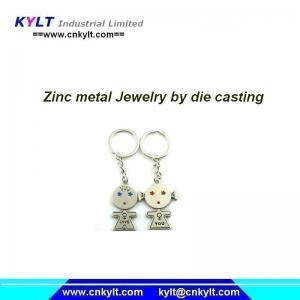 China Zinc Zamak Jewelry with Plating on sale