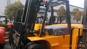 China JAC diesel forklift truck CPCD70H Solid Tyre Diesel Forklift Truck  7 Ton For  Loading & Unloading Cargo CPCD70 on sale