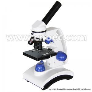 China Lab Achromatic LED Biological Microscope Monocular Microscopes A11.1523 on sale