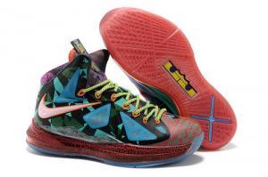 China Lebron X 10 zapatos vende al por mayor en línea para los hombres y las mujeres on sale