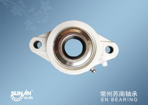 China White Plastic Pillow Block Bearings For Auto / Motorcycle / Bicycle SUCFLPL207 on sale