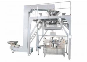 China PLC Operated Food Packing Machine , Fully Automated Doypack Packing Machine For Stand Up Pouch Bag With Zipper on sale