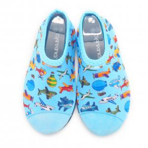Quality Lycra Barefoot Kids Swimming Pool Shoes Beach Aqua Shoes For Swimming for sale
