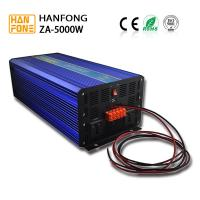 China DC12V/24V/48V AC110V/220V 5000W Pure Sine Wave Power Inverter with Charger ups solar inverter with battery charger on sale