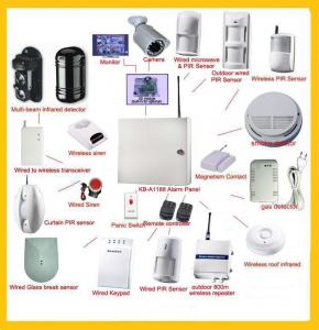 China Network alarm system | GSM & pstn industrial Security systems | retail and wholesale security on sale