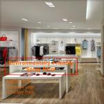 High grade popular modern clothing retail store fixtures