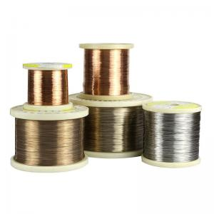 China CuNi10 / Alloy90 Heat Resistant Copper Alloys Wire For Electric Blankets on sale