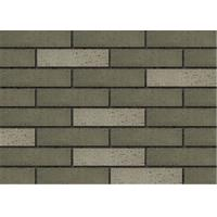 Solid Rough Surface Exterior Thin Brick For Outside Wall 240x60mm