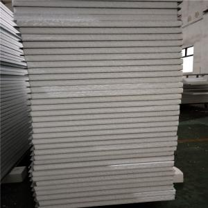0 326mm steel sheet 50mm insulated eps sandwich panel