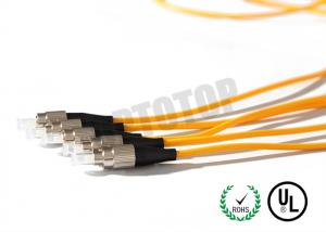 China 3.0mm Single Mode Fiber Optic Cable FC Connector With UPC Interface Polish on sale