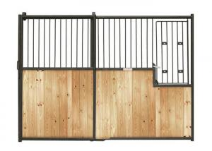 China Bamboo wood Horse Barn Stable Panels   Windows And Doors  by Jh on sale