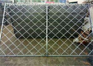 China Razor Iron  Nato Security Barbed Wire , Low Carbon Chain Link Fence With Razor Wire on sale