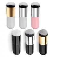 Round Face Cosmetics Blush Brush Make Up Tool Synthetic Fifber