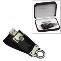 OEM Leather Transcend 8GB USB Pen Drive Free Logo