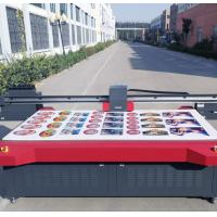 China Large Format Digital UV Flatbed Printer Uv Curing Ink Max Printing Size 2500mm * 1300mm on sale