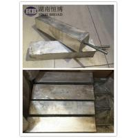 China Al Zn In Alloy Aluminum Anode Used In Salt Fresh And Brackish Waters on sale