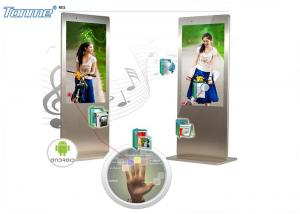 China Super Slim 42 Inch Interactive Touch Screen Display Capactive Panel 450cd / m2 Brightness on sale