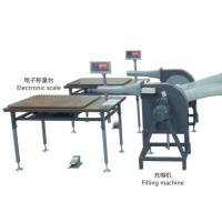 China 1.5 Kw Ball Fiber Filling Machine 100 - 150 Kg / H Capacity With Scale on sale