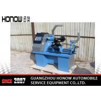 China Full Automatic Tyre Repair Machine Wheel Straightening Equipment With Polishing Set on sale
