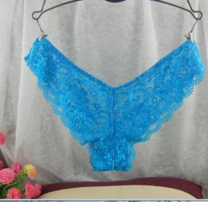 China Women's lace g string on sale