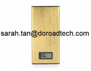 China Universal Ultrathin 18000mAh Dual USB Metal LCD Screen Portable External Battery Charger on sale