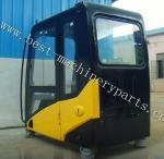 CAT320D caterpillar excavator cabin, operator cabin