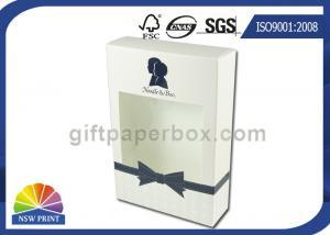 China Коробка прямого мытья тела лосьона бумажной коробки конца вытачки упаковывая с ясным окном on sale