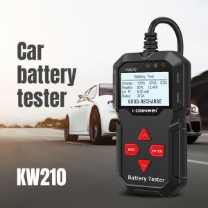 China 12V Digital Battery Tester CCA 2000 Cell Analyzer For Gasoline / Diesel Vehicle on sale